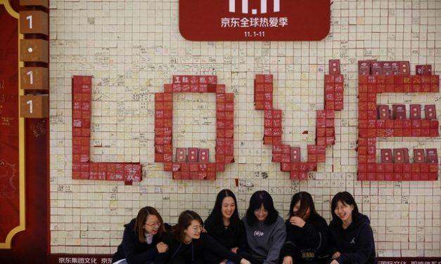 'Dia dos solteiros' movimenta cerca de R$ 300 bilhões em vendas na China