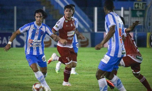 Técnico do Paysandu elogia os atletas e avalia o placar do jogo: 'Importante foi a vitória'