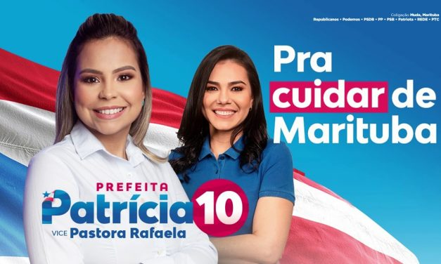 Patricia, do Republicanos, é eleita prefeita de Marituba