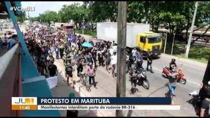 Manifestantes apontam supostas fraudes nas eleições municipais de Marituba; TRE nega