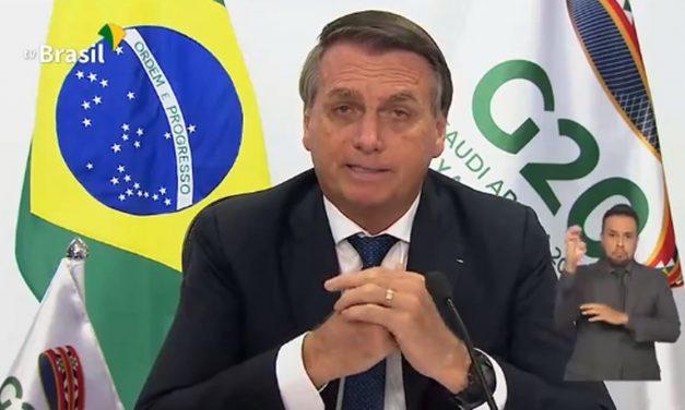 """Bolsonaro deixa participantes do G-20 """"em choque"""" ao falar de racismo"""
