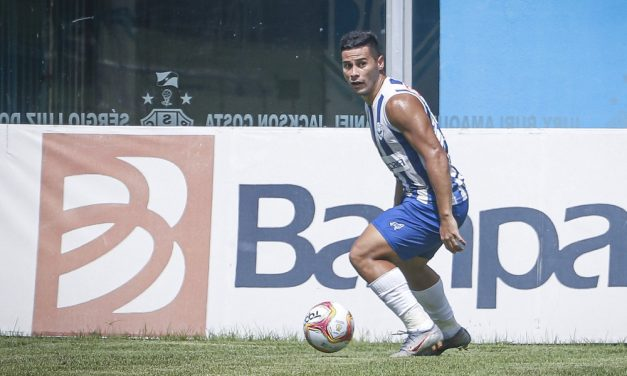 """Bruno Collaço elogia crescimento do Paysandu na reta final: """"Momento muito importante"""""""