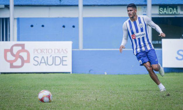 Jefinho aparece no BID e pode estrear pelo Paysandu contra o Botafogo-PB na sexta-feira