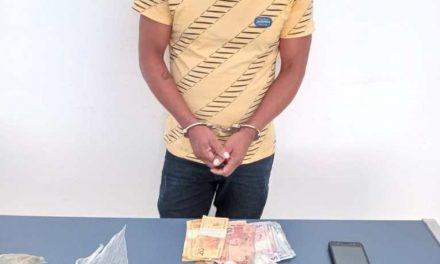 Acusado de tráfico é preso em flagrante na Vila Santa Maria em Moju
