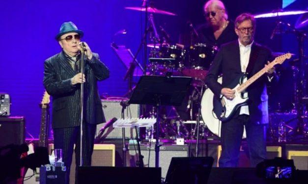 Eric Clapton e Van Morrisson se juntam para lançar música sobre isolamento social