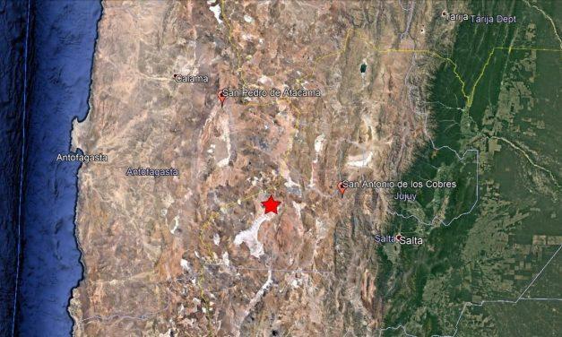 Argentina: tremor de magnitude 6,3 é identificado próximo da fronteira com Chile