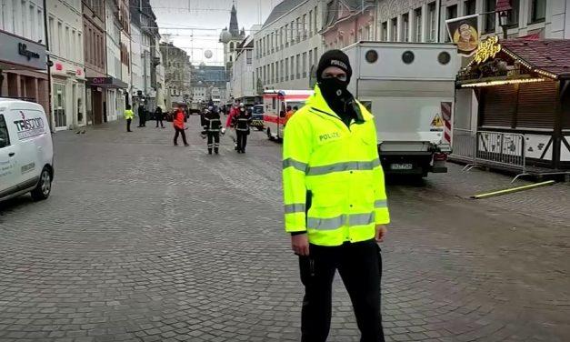 Atropelamento deixa dois mortos e 15 feridos na Alemanha