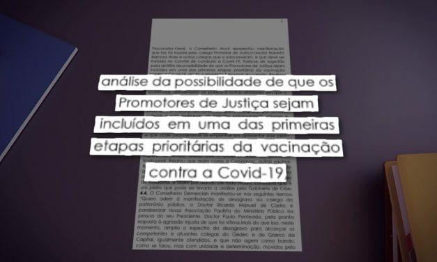 Grupo de promotores de SP pede prioridade à categoria na vacinação contra a Covid-19