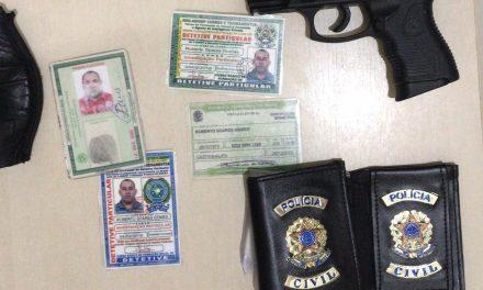 31° BPM prende suspeito de porte ilegal de arma de fogo