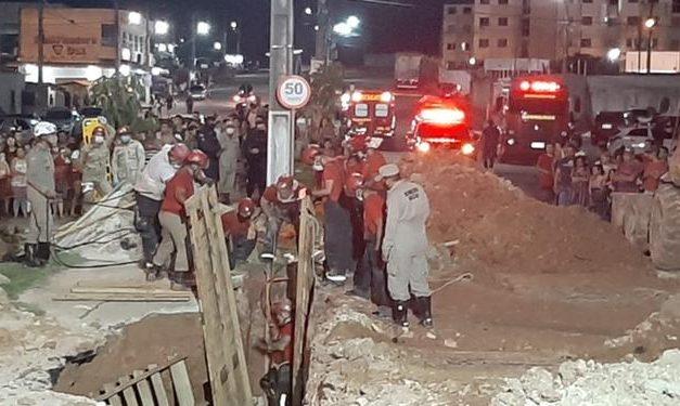 Operário morre soterrado em obra de drenagem em Marituba