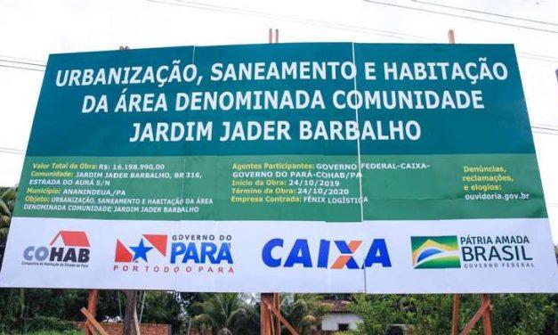 MPPA entra com ação para retirada de nomes de pessoas vivas de bens públicos em Ananindeua