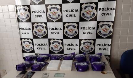 Homem é preso por tráfico de drogas em Ananindeua