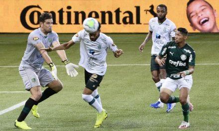 América-MG segura o Palmeiras na primeira semifinal da Copa do Brasil