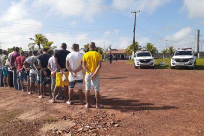 Seap inicia saída temporária de detentos para o Natal