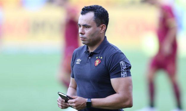 Jair Ventura completa quatro meses no Sport com equipe em busca de nova reação na Série A