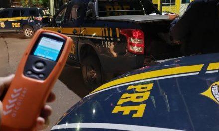 Operação 'Rodovida' da PRF flagra 40 condutores sob efeito de álcool e oito são presos no Pará