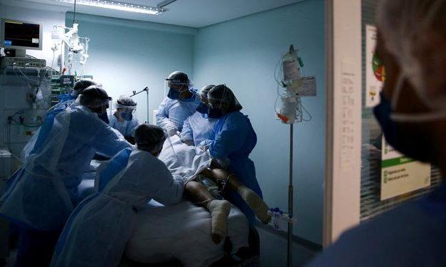 Brasil acumula 190,5 mil mortes e 7,45 milhões de casos de covid-19