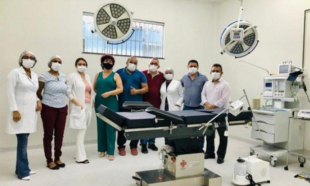 Prefeito Pedro Coelho Filho entrega a estrutura do Bloco Cirúrgico do Hospital Municipal
