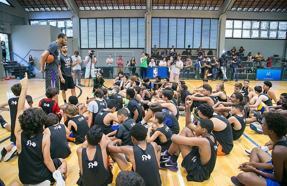 NBA fecha parceria para criar no México a sede da NBA Academy para a América Latina