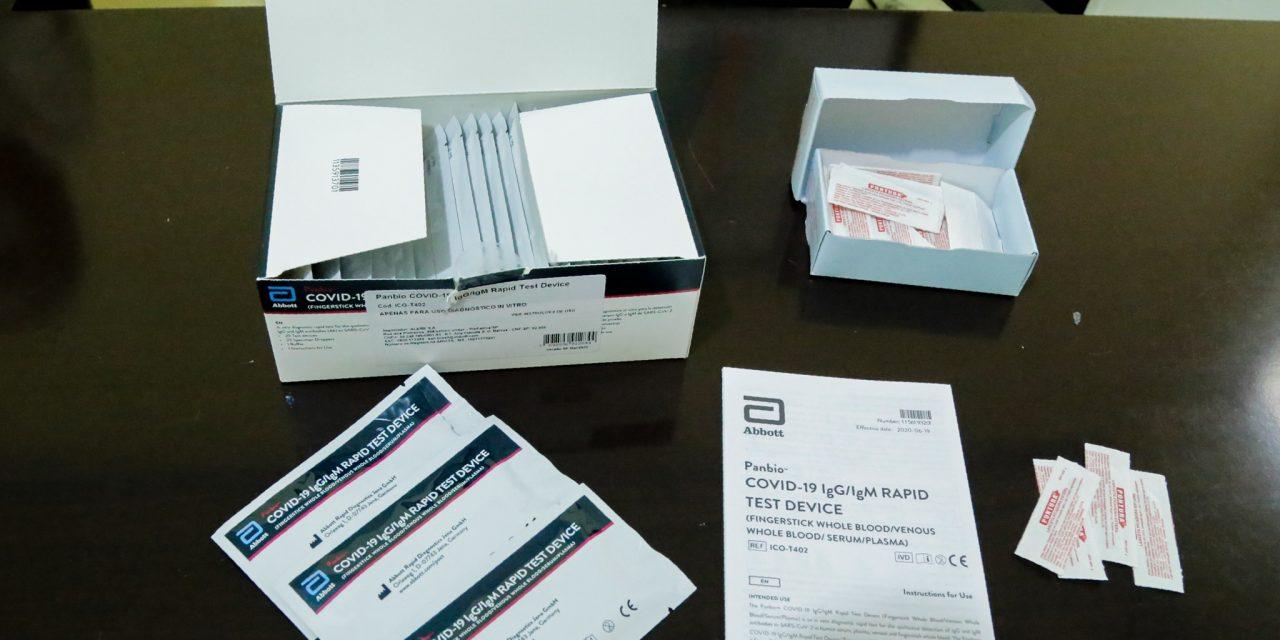 Teste de covid-19 poderá ser feito em todas as unidades municipais de saúde