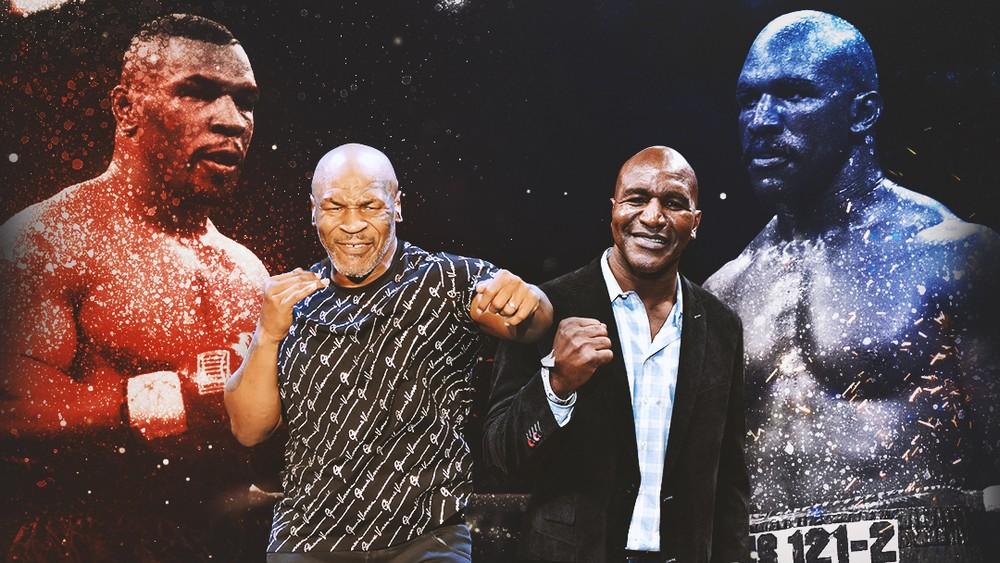 """Holyfield confirma conversas por luta bilionária com Mike Tyson e desafia: """"Estou pronto"""""""