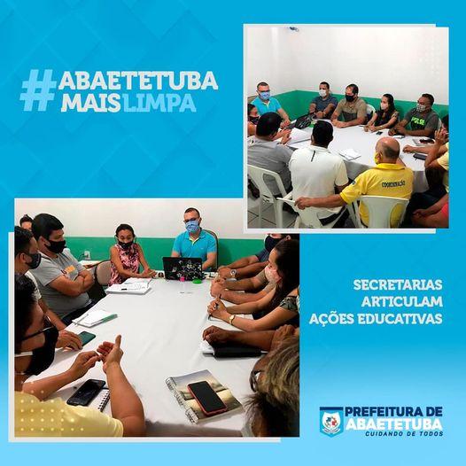 Descarte de resíduos sólidos e entulho são discutidos em Abaetetuba