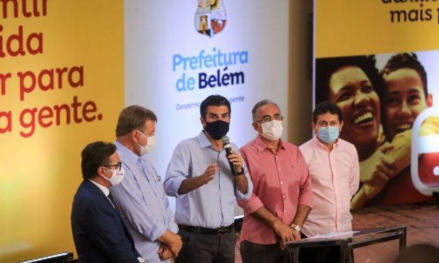 Governador do Pará anuncia parceria com a prefeitura para construção de pronto-socorro no Benguí, em Belém