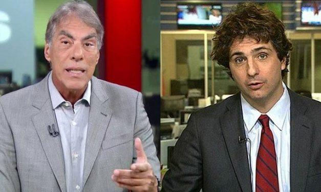 Demétrio Magnoli e Guga Chacra discutem ao vivo na Globo News por conta da Covid-19
