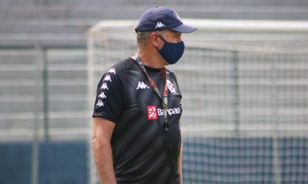 """Ainda sem proposta de renovação, Bonamigo revela desejo de seguir no Remo: """"Estou muito feliz"""""""