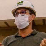 Comitiva da prefeitura vistoria obras em Barcarena