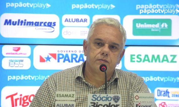Ettinger reformula departamento de futebol e confirma volta de Roger Aguilera ao Paysandu