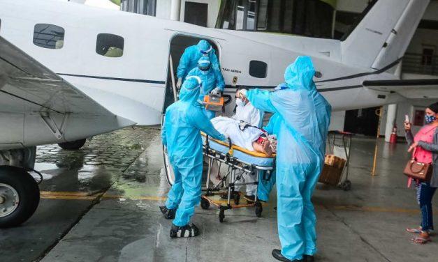 Pará já recebe pacientes do Amazonas para tratamento de Covid-19