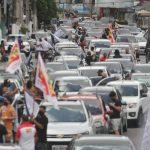 Carreata em Belém pede a saída de Bolsonaro da presidência da República
