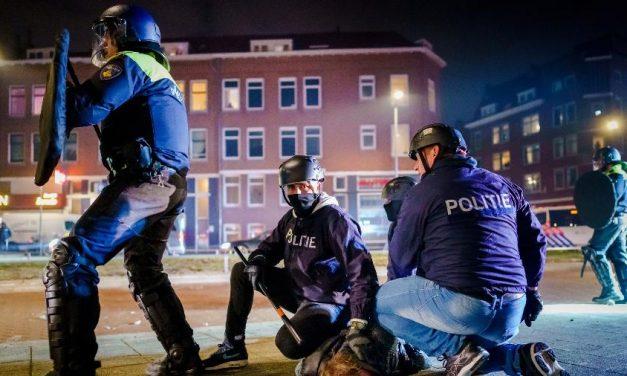 Holanda vive mais uma noite de confrontos contra toque de recolher para conter a covid-19