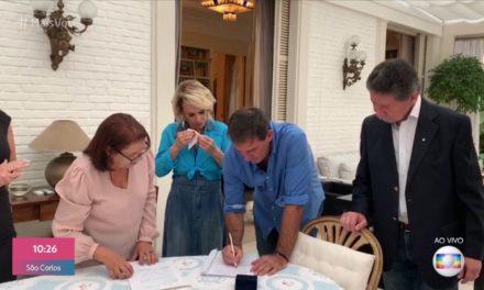 Ana Maria Braga se casa com Johnny Lucet em cerimônia íntima para familiares