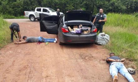 Trio é baleado após ser flagrado com carga roubada em Barcarena