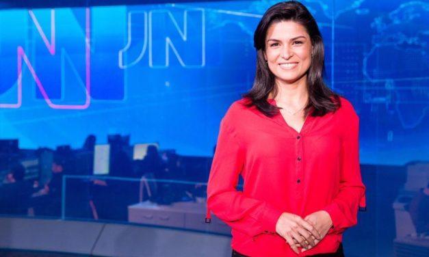 Convocada novamente para o JN, Priscilla Castro convida público a acompanhar transmissão