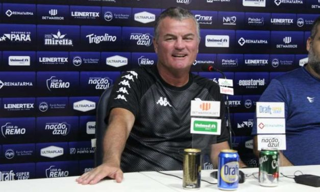Mazola Jr. é apresentado, diz não ser torcedor do Paysandu e afirma: 'Não vim passar vergonha'