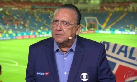 Galvão Bueno diz que não vai narrar a Copa do Mundo do Qatar