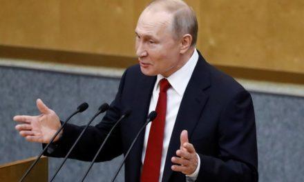 Legislativo da Rússia aprova regra para que Putin fique no poder até 2036
