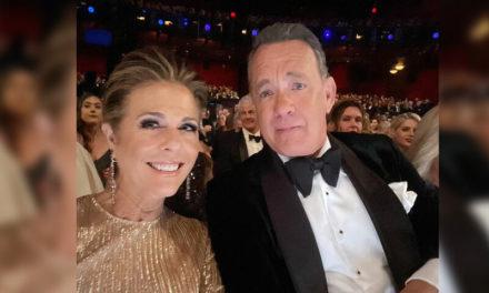 Tom Hanks e a esposa Rita Wilson são diagnosticados com coronavírus