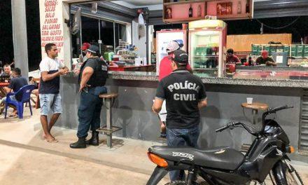 Polícia Civil fecha 148 estabelecimentos comerciais no interior do estado