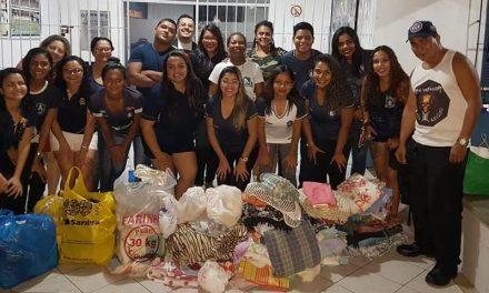 Contra o novo coronavírus, Remo arrecada donativos no Baenão para ajudar comunidades carentes