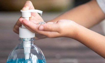 Bombeiros alertam sobre uso seguro do álcool em gel contra o coronavírus