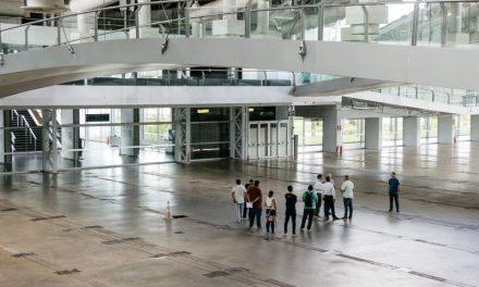 Governador acompanha vistoria para implantação de hospital de campanha em Belém