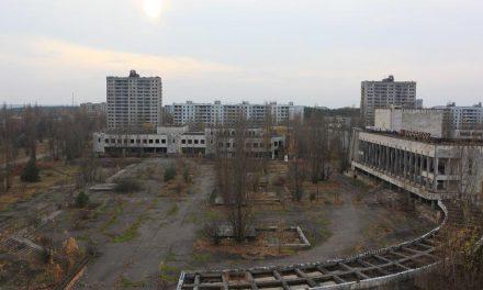 Incêndio florestal perto de Chernobyl provoca aumento da radioatividade