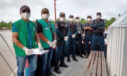 PM realiza ações para evitar avanço do novo coronavírus na região do Marajó