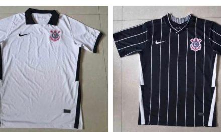 Novas camisas do Corinthians terão valores reajustados; vazam supostas imagens