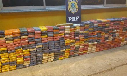 Em 24 horas, PRF apreende uma tonelada de cocaína