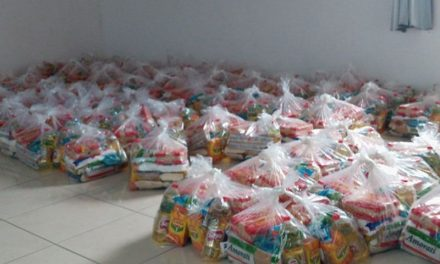Esportistas paraenses recebem cestas básicas  em ação da FPF
